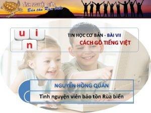 TIN HC C BN BI VII CCH G