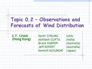Topic 0 2 Observations and Forecasts of Wind