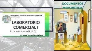 DOCUMENTOS MERCANTILES Liceo Bicentenario Instituto de Administracin y