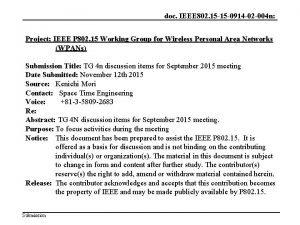 doc IEEE 802 15 15 0914 02 004