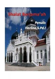 Shalat Berjamaah Penulis Herlina S Pd I Peta