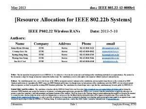 May 2013 doc IEEE 802 22 12 0088