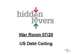 War Room 0720 US Debt Ceiling War Room