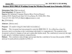 doc IEEE 802 15 11 0114 00 004