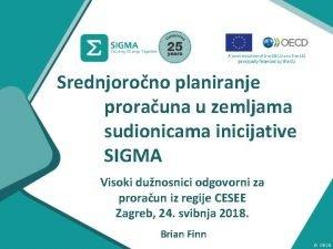 Srednjorono planiranje prorauna u zemljama sudionicama inicijative SIGMA