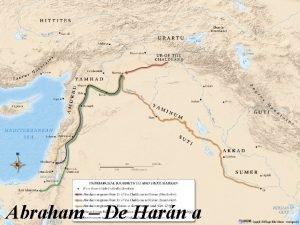Abraham De Harn a Por la fe Abraham