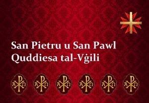San Pietru u San Pawl Quddiesa talVili Qari