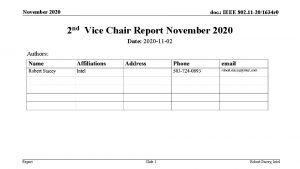 November 2020 doc IEEE 802 11 201634 r