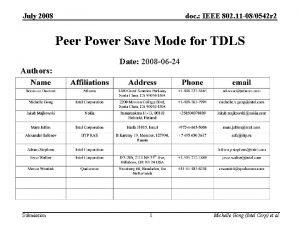July 2008 doc IEEE 802 11 080542 r