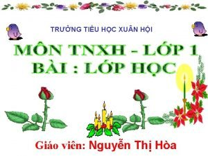 TRNG TIU HC XU N HI Gio vin