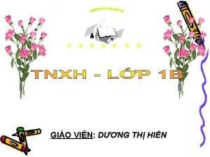 GIO VIN DNG TH HIN Th hai ngy