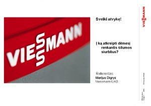Herzlich willkommen Wrmepumpen 2012 Vorlage 1 Referent Marijus