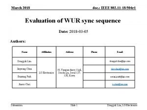 March 2018 doc IEEE 802 11 18504 r