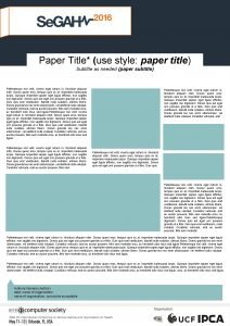 Paper Title use style paper title Subtitle as