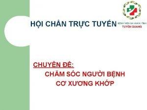 HI CHN TRC TUYN CHUYN CHM SC NGI