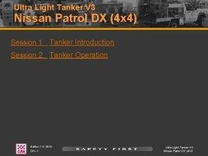 Ultra Light Tanker V 3 Nissan Patrol DX
