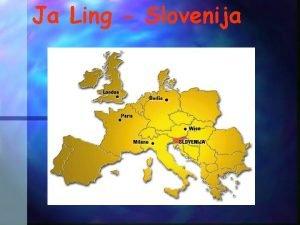 Ja Ling Slovenija JaLing Janua linguarum Vrata v