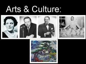 Arts Culture 1930 s Arts Culture 1930 s