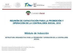 Programa Escuelas de Tiempo Completo PETC Programa Nacional