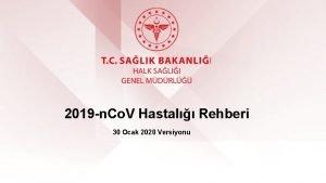 2019 n Co V Hastal Rehberi 30 Ocak