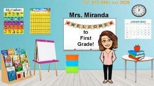 731 642 0961 ext 2626 Mrs Miranda to