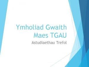 Ymholiad Gwaith Maes TGAU Astudiaethau Trefol Tabl A