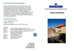 Hvad er Landsarkivet for Snderjylland er en forskningsinstitution