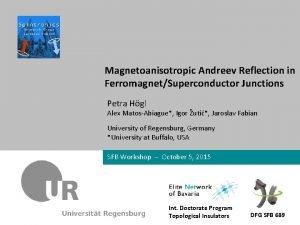 Petra Hgl University of Regensburg Dr Max Mustermann