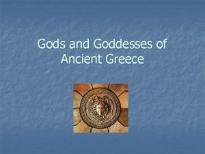 Gods and Goddesses of Ancient Greece Kronos Saturn