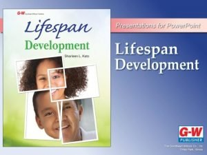 Chapter 1 An Introduction to Lifespan Development Objectives