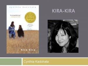 KIRAKIRA Cynthia Kadohata Cynthia Kadohata Chapter 1 pp