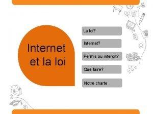 La loi Internet et la loi Internet Permis