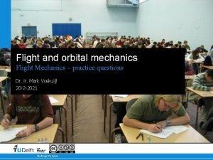 Flight and orbital mechanics Flight Mechanics practice questions