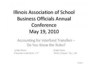 Illinois Association of School Business Officials Annual Conference
