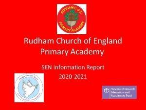 Rudham Church of England Primary Academy SEN Information