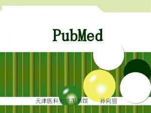 u Pub Med NLM Pub Med CentralPMC Open