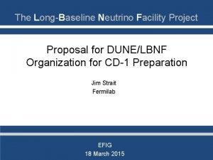 The LongBaseline Neutrino Facility Project Proposal for DUNELBNF
