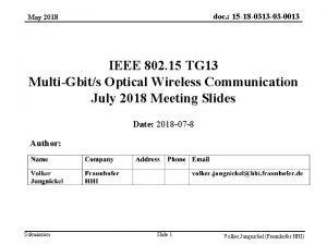 doc 15 18 0313 03 0013 May 2018