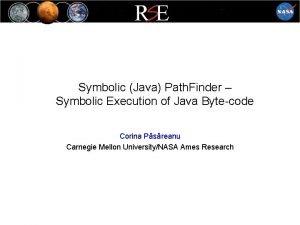 Symbolic Java Path Finder Symbolic Execution of Java