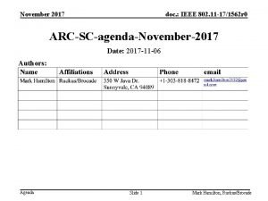November 2017 doc IEEE 802 11 171562 r