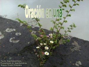 Texto Jos Garca Nieto Presentacin M Asun Gutirrez