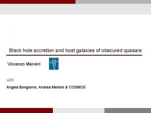 Black hole accretion and host galaxies of obscured