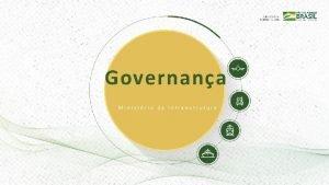 Governana Ministrio da Infraestrutura O que Governana Conjunto