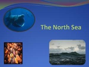 The North Sea Geography The North Sea shelf
