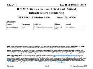 July 2011 doc IEEE 802 22 1182 r