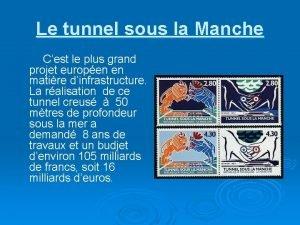 Le tunnel sous la Manche Cest le plus