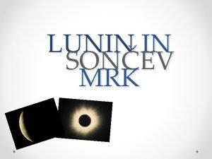 LUNIN IN SONEV MRK LUNIN MRK KAKO NASTANE