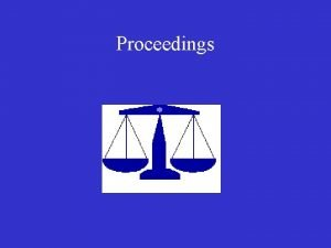 Proceedings The Legal Process Administrative Proceedings CFTC Administrative