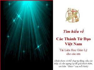 Tm hiu v Cc Thnh T o Vit