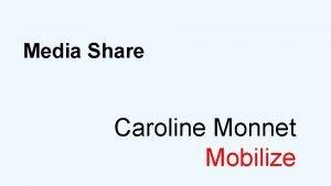 Media Share Caroline Monnet Mobilize Caroline Monnet is